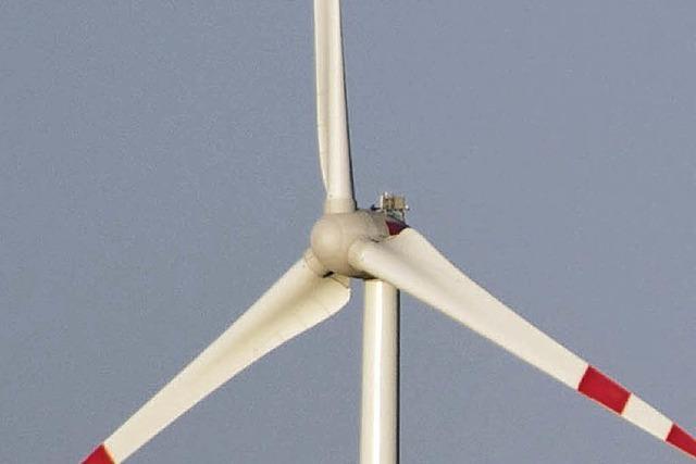 Der Windpark nimmt Gestalt an