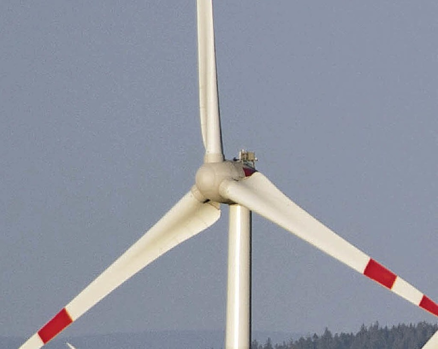 Gleich vier Windräder werden bei Gengenbach gebaut.   | Foto: dpa