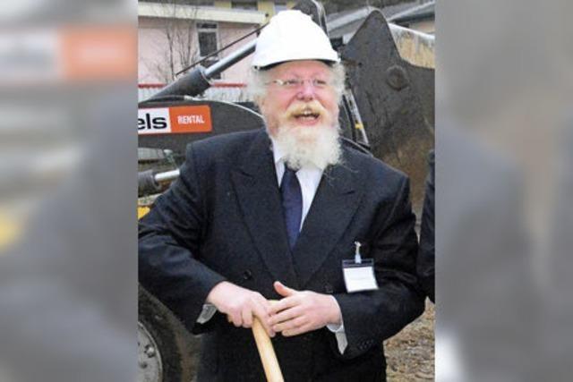 Investor Pinchas Schapira erteilt Überdachungen in der Hauptstraße eine Absage