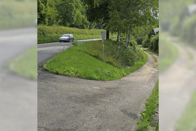 Pläne zur Radwegführung
