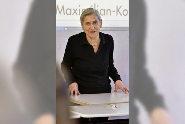 Fania Brancovskaja hat am DFG vom Ghetto erzählt und spricht heute an der Uni