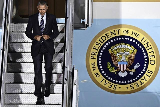 Obama auf Abschiedsbesuch in Deutschland