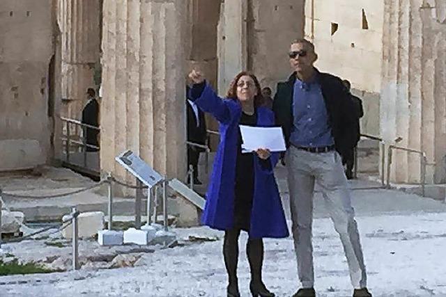 Obama wirbt in Athen leidenschaftlich für die Demokratie
