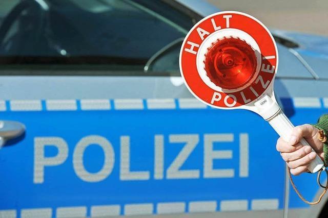 Unfallflucht in Inzlingen: Polizei findet Verursacher