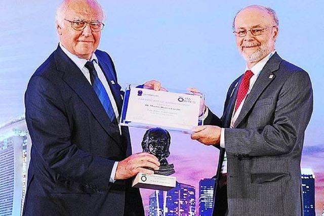 ITA Lifetime Achievement Award für Martin Herrenknecht