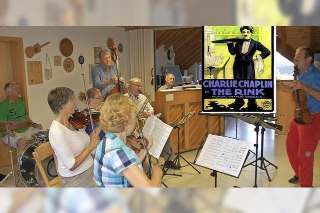 Mit Obermettinger Salonorchester in St. Blasien