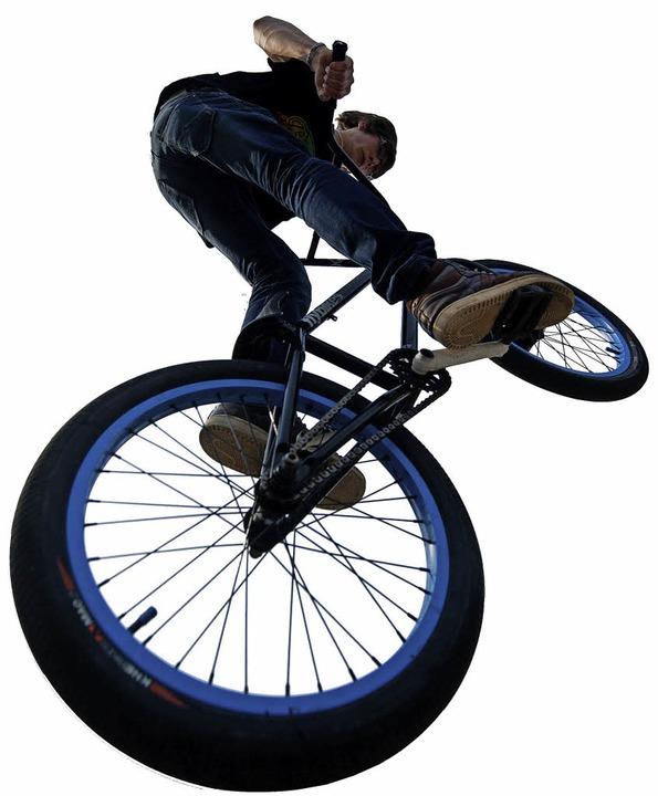 Auch schön: Flug mit Fahrrad!  | Foto: Nico Pointner