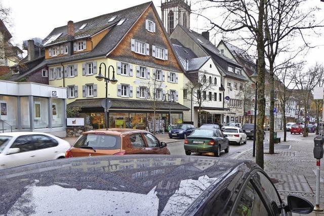 Keine zusätzlichen Parkplätze für Kunden in der Innenstadt