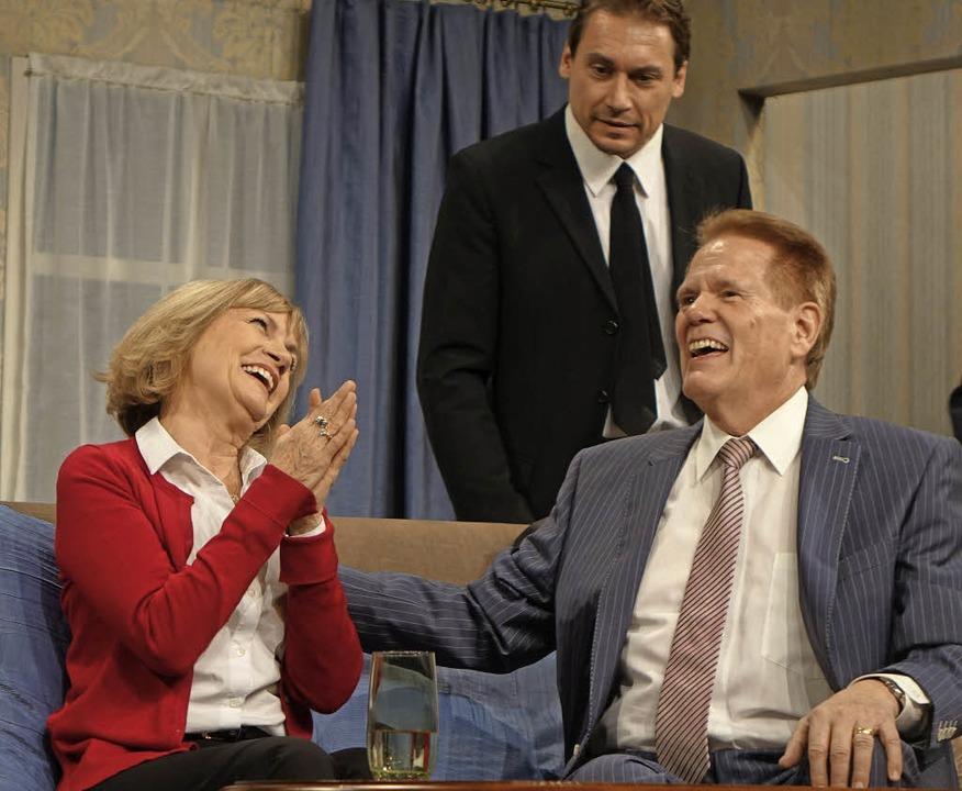 Ende gut, alles gut: Susi von Lindenau...erger in der Komödie im Häbse-Theater   | Foto: Roswitha Frey