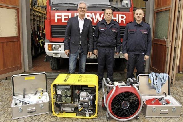 Geräte für die Feuerwehr