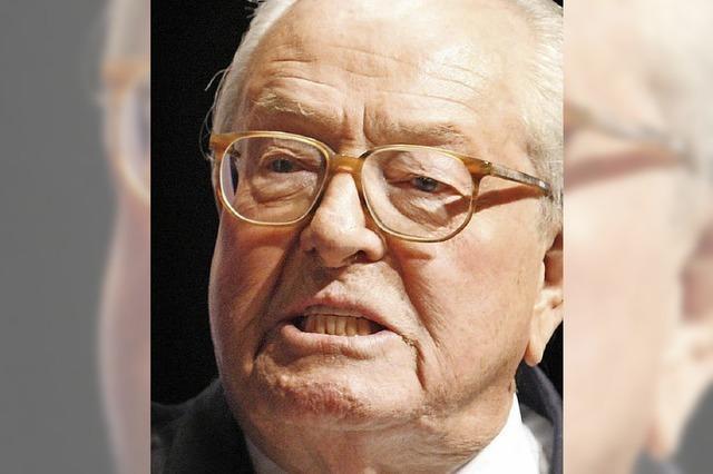 Parteiausschluss von Jean-Marie Le Pen bestätigt