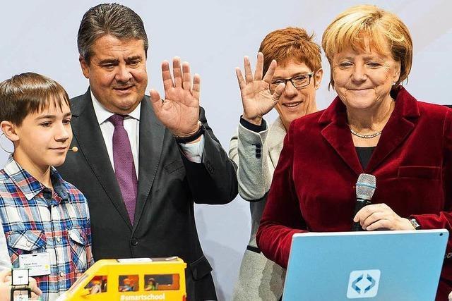 Merkel will den Umgang mit Daten lockern