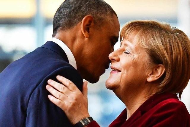 Still verabschiedet sich Obama von Berlin