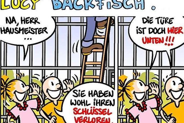 Lucy Backfisch: Ein etwas anderer Hausmeister