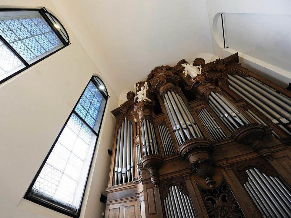 Die 2010 sanierte Welte-Orgel im Augustinermuseum  | Foto: ingo schneider
