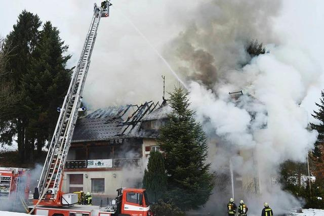 Ursache für Brand in Gasthaus Sternwarte geklärt