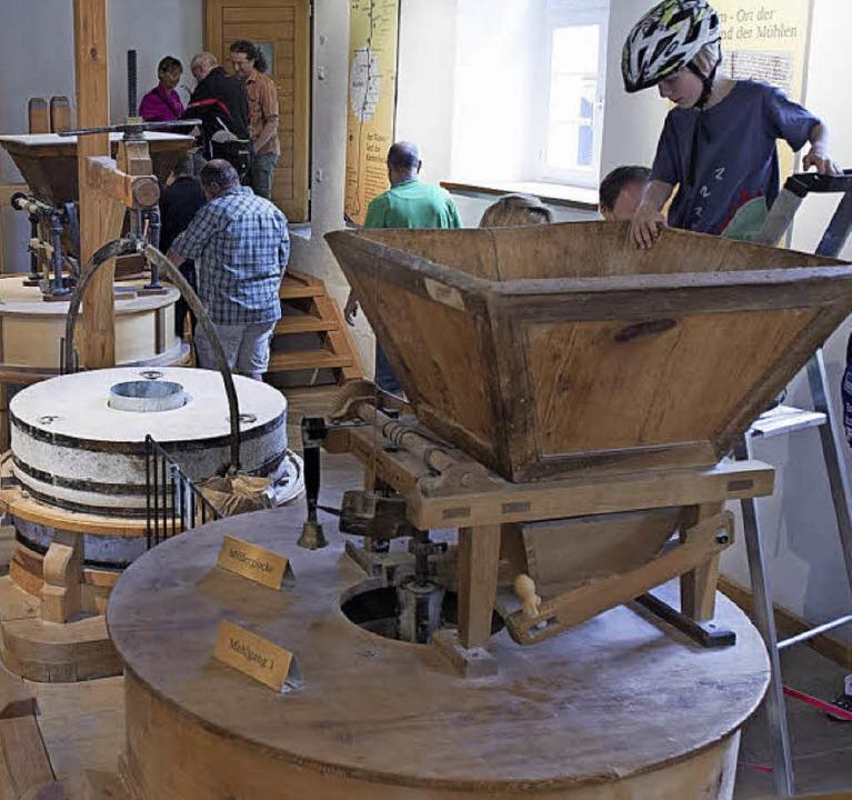 Es gibt viel zu sehen im Mühlenmuseum.    Foto: Volker Münch