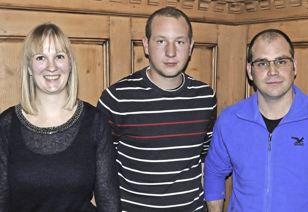 Die Vorstandswahlen bescherten den Sch...ias Lasarzick und Michael Glattfelder.  | Foto: Dietmar Noeske