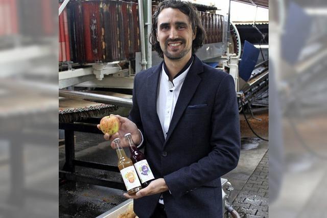 Das Familienunternehmen Jung produziert Säfte aus Streuobst