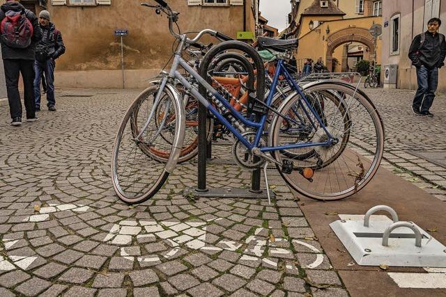 Straßburg erprobt Parkplätze für Lastenräder