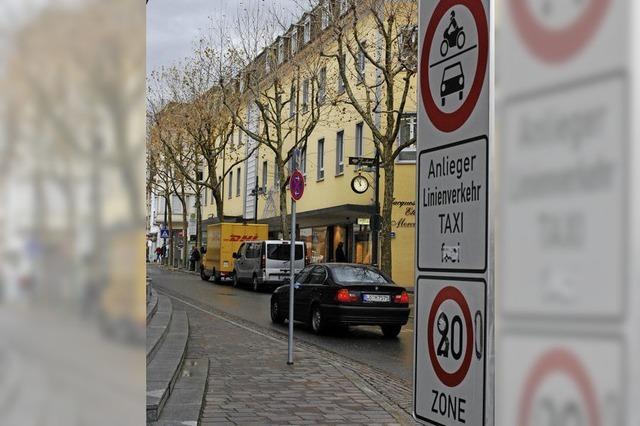Grabenstraße wird Fußgängerzone