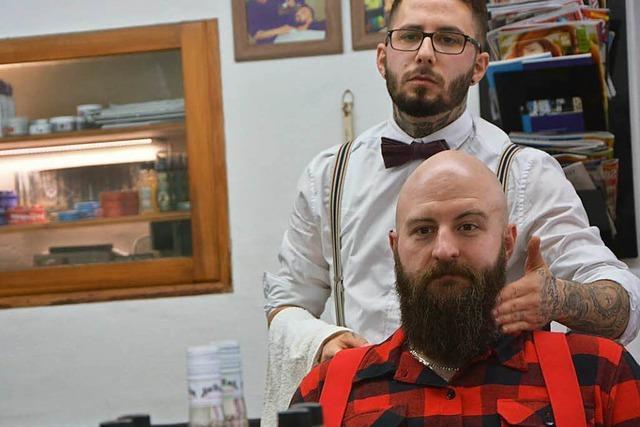 Besuch beim Barbier: