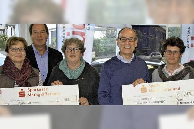 Classic-Rallye durch Oberschwaben spielt 1000 Euro ein