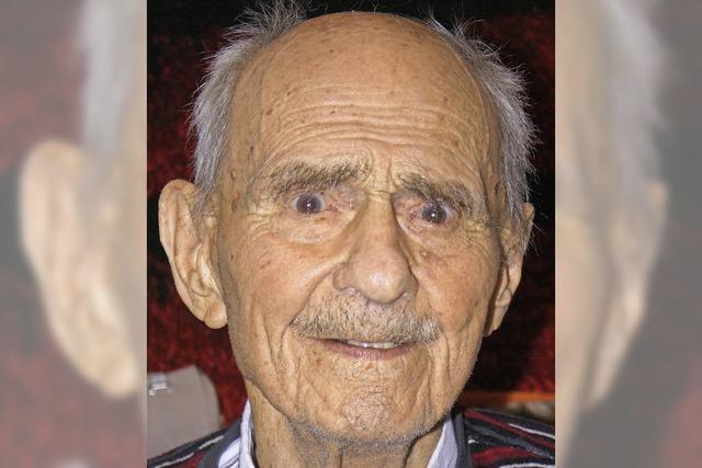 Ältester Görwihler wird 100 Jahre alt