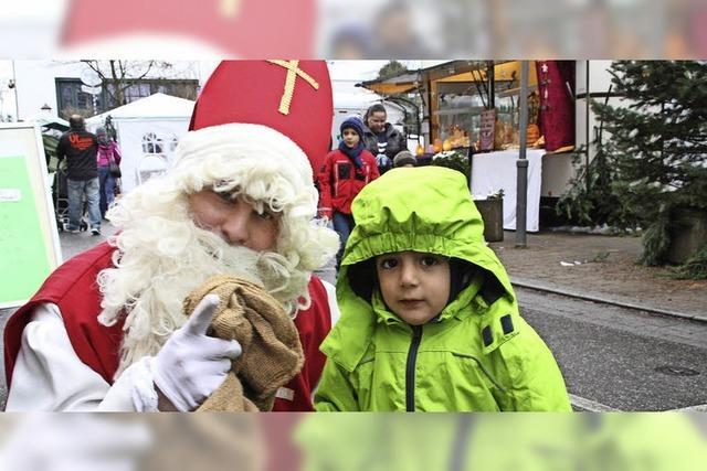 Nikolaus zeigt sich dieses Jahr den ganzen Tag