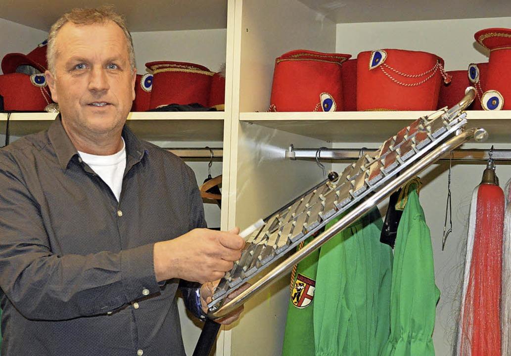 Jürgen Schuler, Leiter des Spielmannsz...ber  Unterstützung des Fördervereins.   | Foto: Gerhard Lück