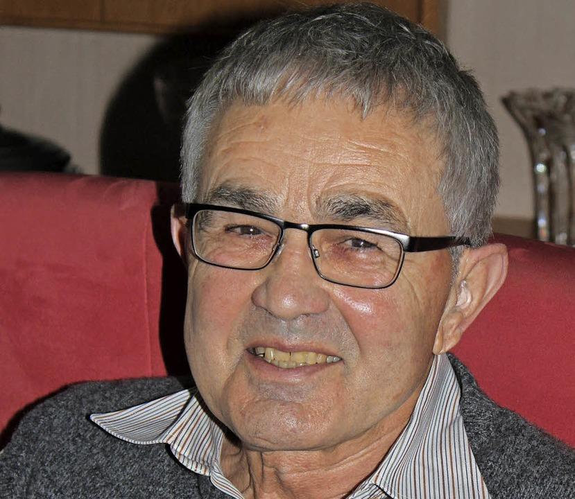Rudolf Matthä feiert am Sonntag seinen 75. Geburtstag.   | Foto: Jacob