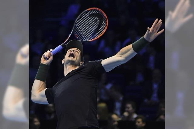 Bei den ATP World Tour Finals schlägt Murray Wawrinka