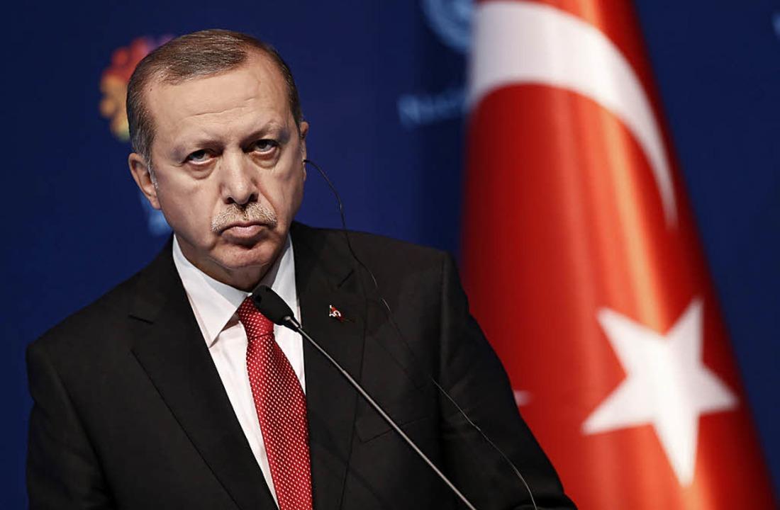 Präsident Recep Tayyip Erdogan   | Foto: DPA