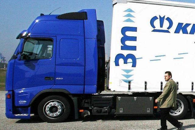 Gigaliner: Riesenlastwagen gehören bald zum Alltag