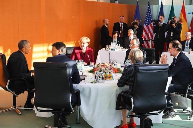 Russland-Sanktionen müssen bestehen bleiben