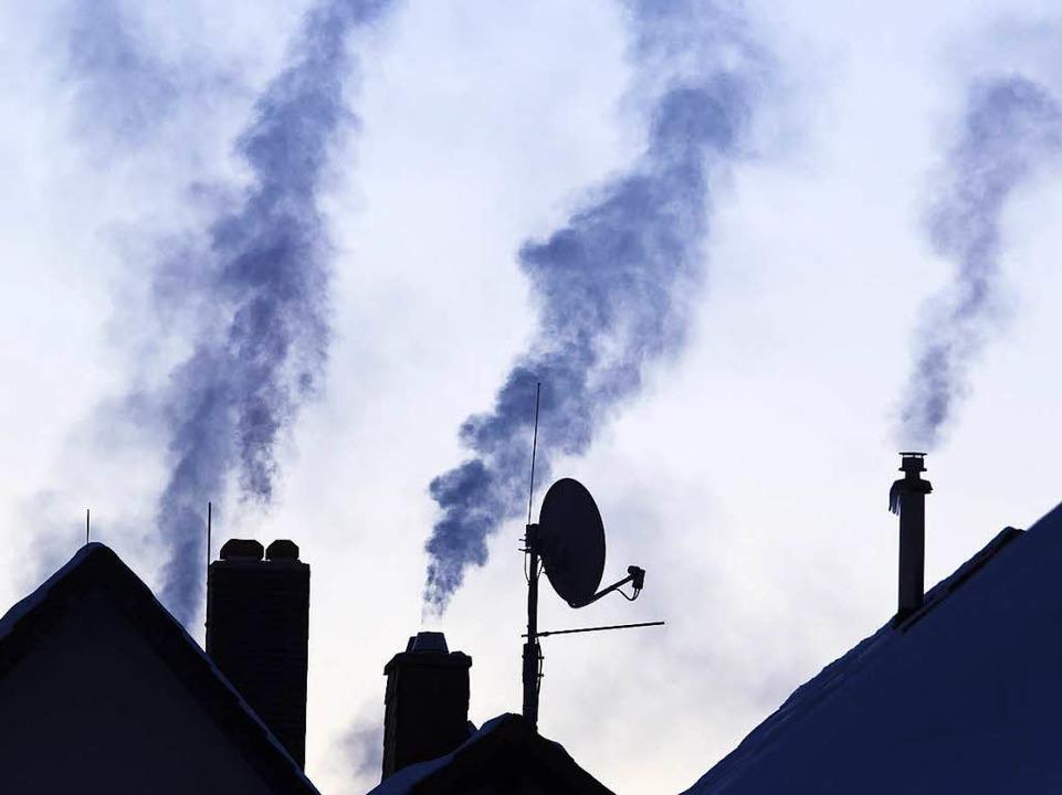 Heizen mit Kohle – schlecht fürs Klima    Foto: Michael Reichel