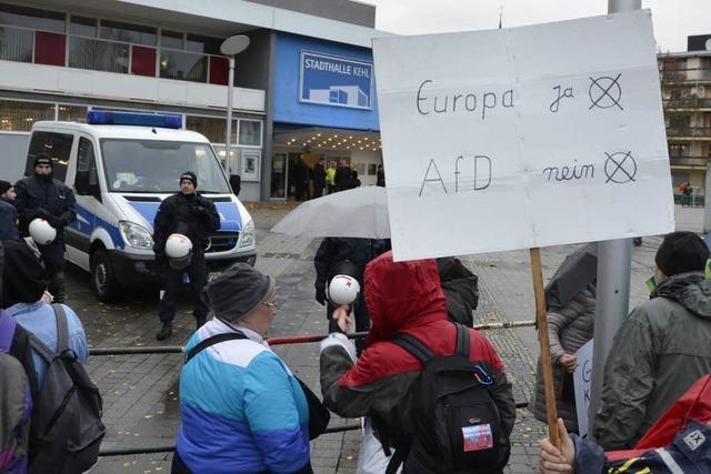 AfD tagt in Kehl unter Ausschluss der Öffentlichkeit