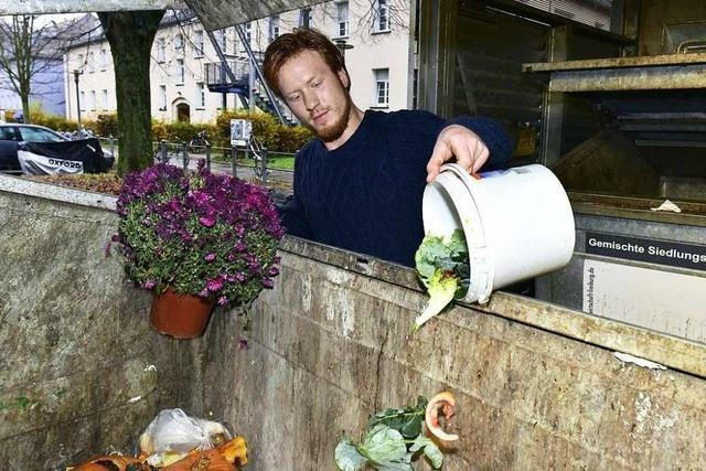 In Studentenwohnheimen wie in Vauban gibt es keine Biomülltonnen