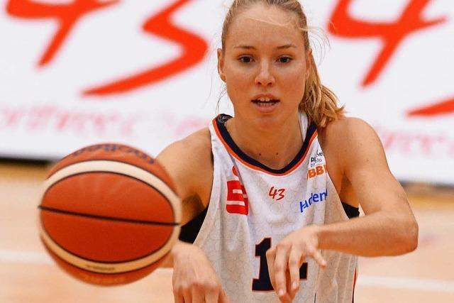Die Freiburgerin Ilka Hoffmann verliert mit dem deutschen Team in der EM-Qualifikation