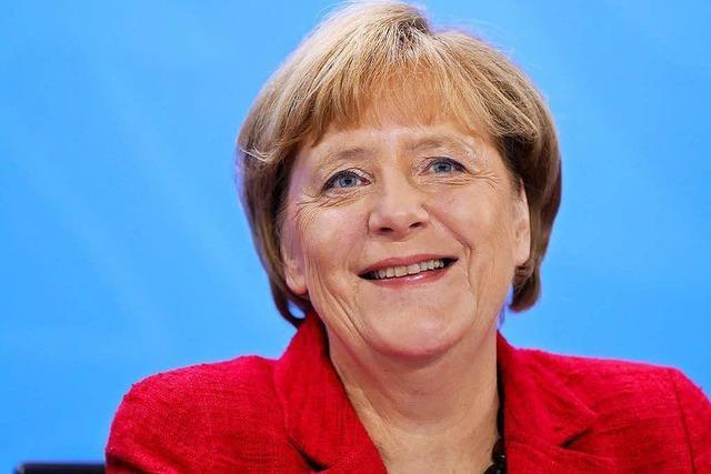 Angela Merkel kündigt erneute Kanzlerkandidatur an