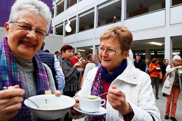 Beim neunten Internationalen Suppenfest war der Ansturm auf die Suppentöpfe groß