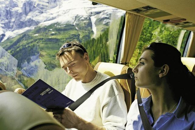 Mit dem Bus bis an die Piste