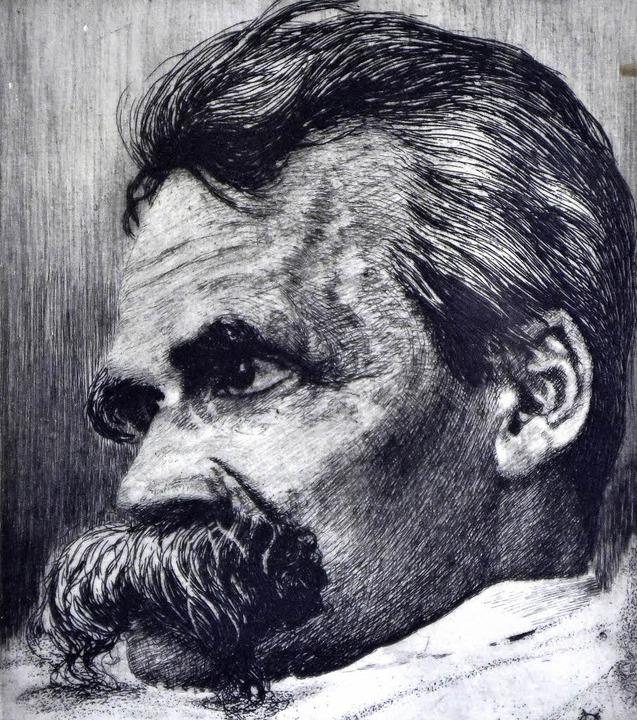 Einsamer Philosoph: Friedrich Nietzsche   | Foto: Thomas Kunz