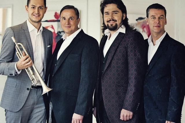 Kevin Pabst und die Jungen Tenöre mit Ensemble in Friesenheim
