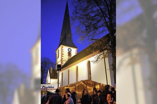 Weihnachts- und Wintermärkte lockten im Ried