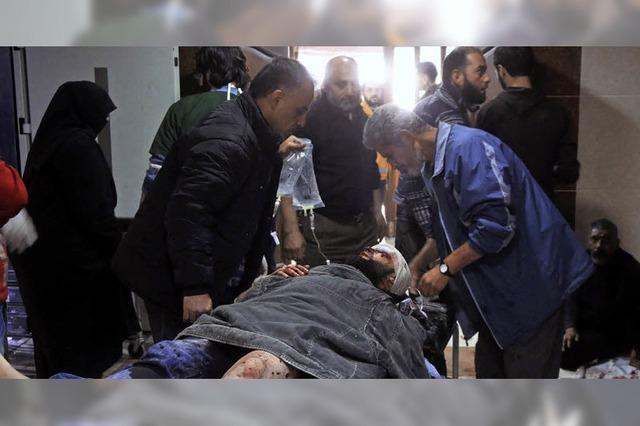Alle Kliniken in Ost-Aleppo zerstört