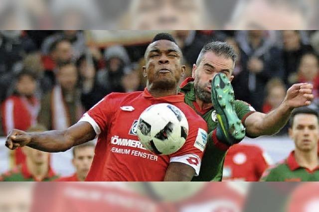 So haben die Spieler des SC Freiburg gegen Mainz gespielt