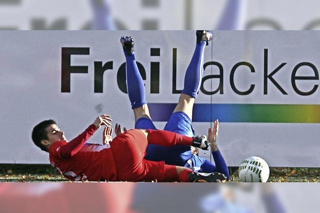 Lockerer Kick am Samstagnachmittag mit vier Toren