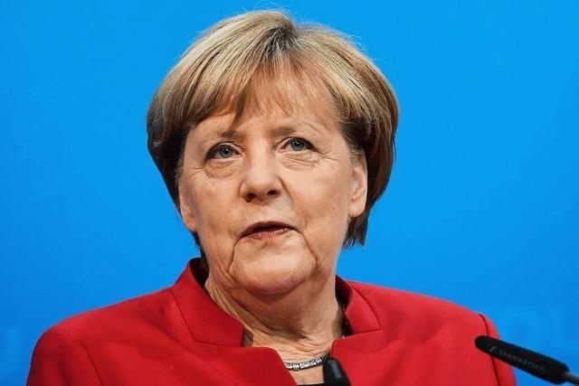 Merkel tritt pflicht- und machtbewusst ein viertes Mal an