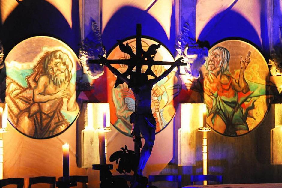 So bunt kann ein Kirchenjubiläum gefeiert werden. (Foto: Markus Zimmermann)